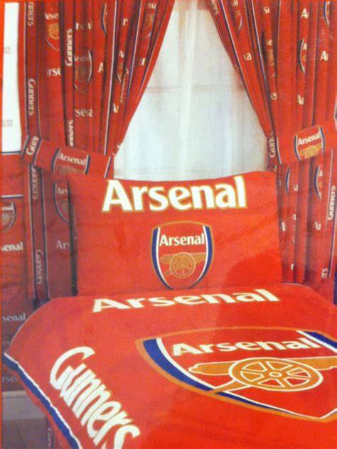 football curtain arsenal fc football club curtains 66 quot x 54 quot 66 quot x 72