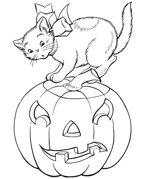 coloring pages halloween cats halloween coloring pages for adults az coloring pages