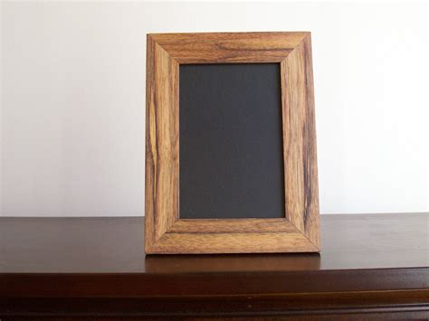 Complete 4x6 Hickory Wood Desk Wall Picture Frame A Frame Desk