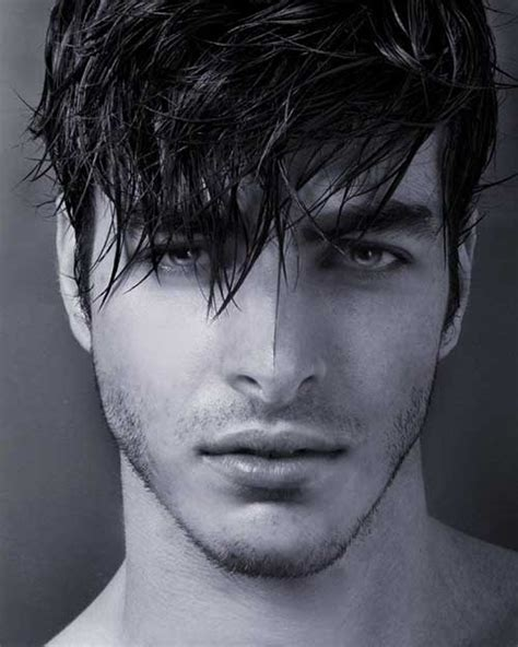 10 Guys with Messy Hair   Mens Hairstyles 2018