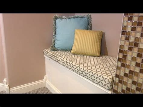 how to make a bench cushion without sewing diy no sew bench cushion seat window seat cushion without