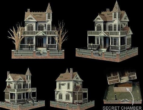 Papercraft Houses - ghost house papercraft papercraft paradise papercrafts