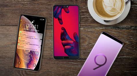 apple iphone xs vs samsung galaxy s9 vs huawei p20 pro computer bild