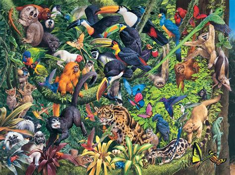 usa map jigsaw puzzle by hamilton grovely tropical forest jigsaw puzzle puzzlewarehouse