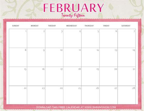 printable planner february 2015 designs you ll love free printable february 2015 calendar