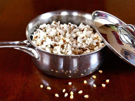 stovetop popcorn recipe    popcorn