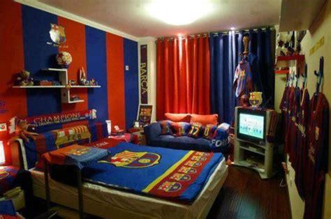 Football Room Decor Fc Barcelona For Teenroom Inspire Your Home