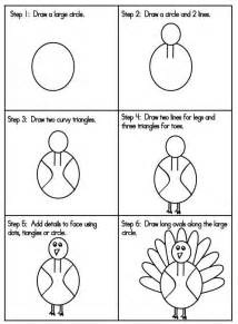 Draw A Simple Turkey » Home Design 2017