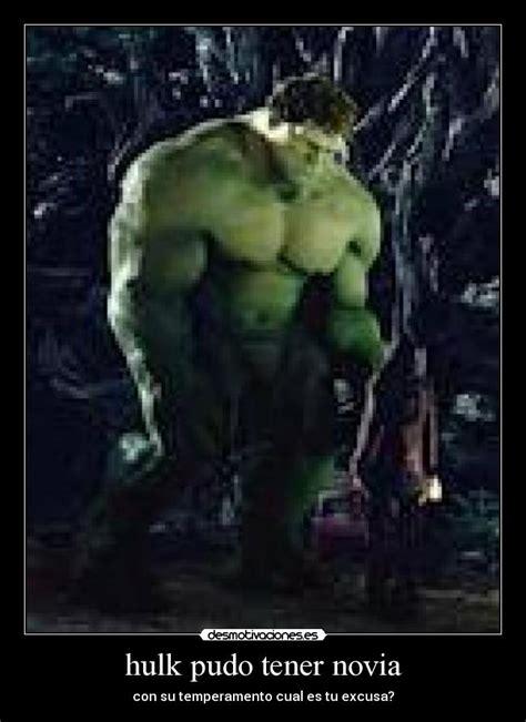 imagenes de hulk triste hulk pudo tener novia desmotivaciones
