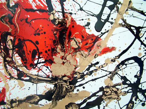 no need for a splash of paint jackson pollock s tiny old new york drip painting original byseb farrington inspired by