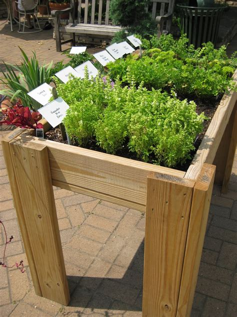 Elevated Container Garden Planters rotary botanical gardens hort elevated planters