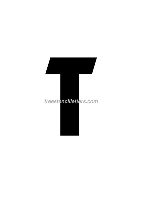printable letter stencils 8 inch print 8 inch t letter stencil free stencil letters