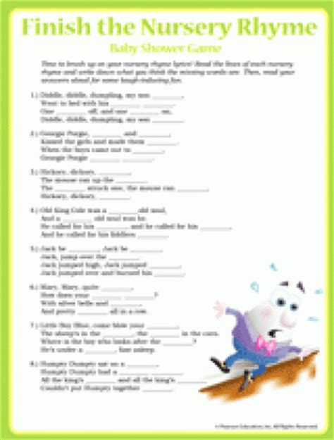 Songs For Baby Shower Slideshow by Baby Shower Free Printables Familyeducation
