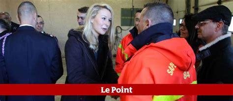 Calendrier Des Pompiers De Velleron Pol 233 Mique Autour De La Pr 233 Sence De Marion Mar 233 Chal Le Pen