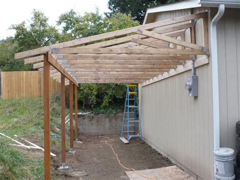 Lean To Garage by Fernando Shed Roof Back Of Garage Diy