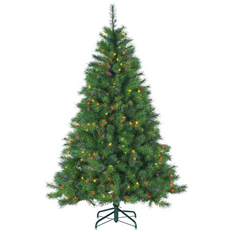 6.5 ft christmas pre lit tree