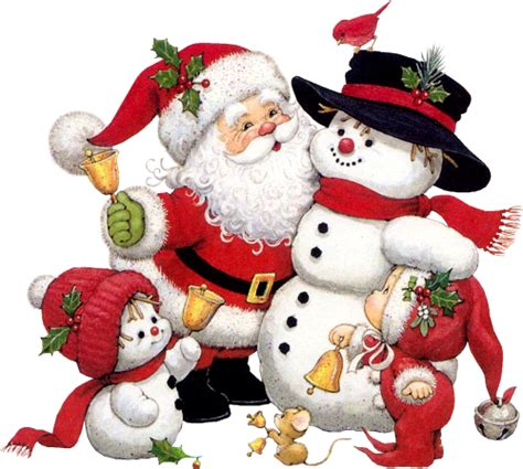 clipart natale free santa and snowman clipart clipartxtras