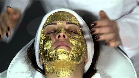Mask Gold 24k shyance gold 24k gold mask of use