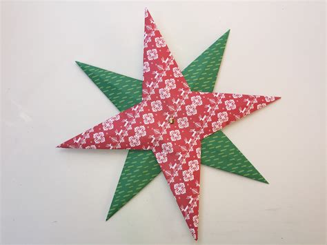 estrella de navidad de papel clarimanitas