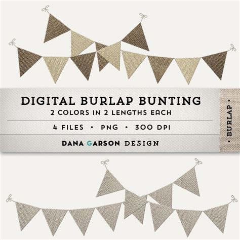 Bunting Flag Accphotobooth 1 digital burlap bunting or flags for invites scrapbooking