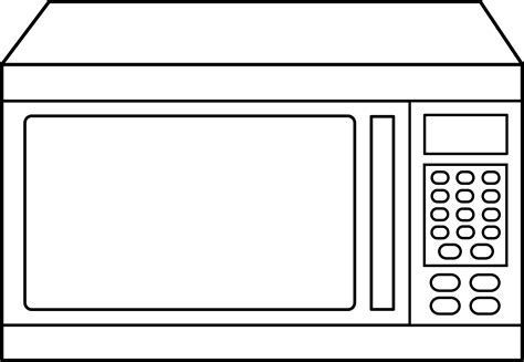 how to microwave a how to draw microwave