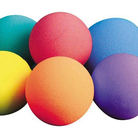 styrofoam balls 7 quot spectrum bright foam balls set of 6 walmart