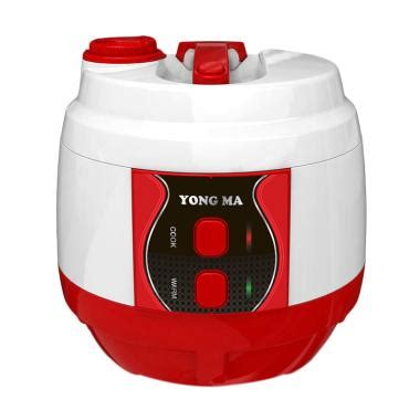Rice Cooker Magic Yongma 2 Liter Ymc206 Kualitas Terbaik jual rabu cantik yong ma ymc 210 blackhole inner pot magic rice cooker merah 2 l eco