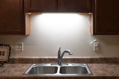 above kitchen sink led lighting dimmable under cabinet led lighting fixture w rocker