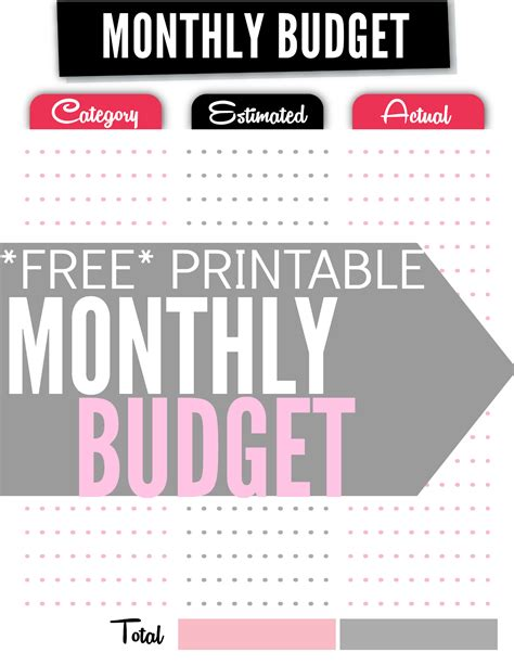 How To Set Up A Monthly Budget Spreadsheet by How To Set Up A Monthly Budget Spreadsheet Laobingkaisuo
