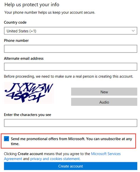 create account how to create a microsoft account with or without a