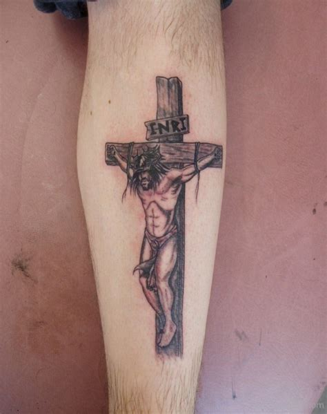 jesus in cross tattoo jesus tattoos designs pictures page 9