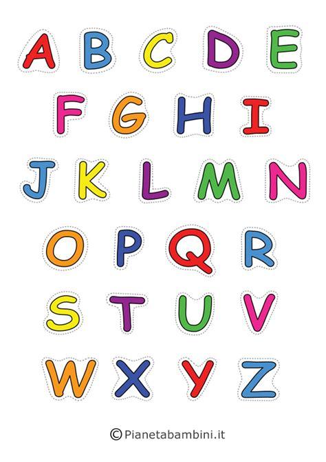lettere dell alfabeto stilizzate cool schede alfabeto per bambini da stare xp69 pineglen