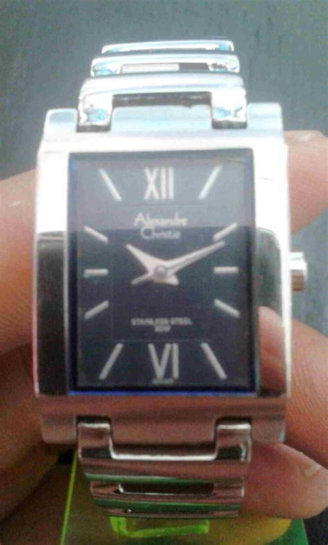 Jam Tangan Cewek Quartz jam tangan alexandre christie quartz cewek jam jadul