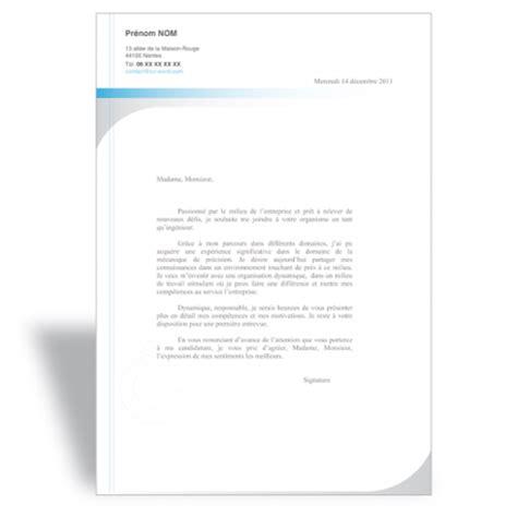 Modèle De Lettre De Motivation Ingénieur T 233 L 233 Charger Mod 232 Le Cv Word Ing 233 Nieur Exemple Curriculum Vitae