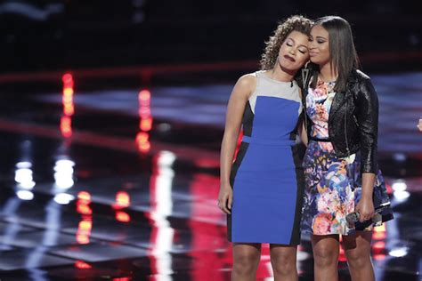 who went home on the voice 2015 last top 5 results