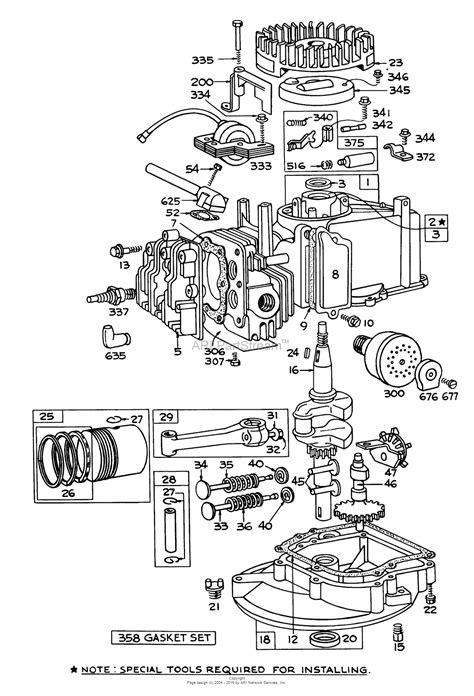 parts diagram for briggs stratton engine toro 62835 shredder 1972 sn 2000001 2999999 parts