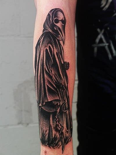 plague doctor tattoo mike plague doctor stuff i