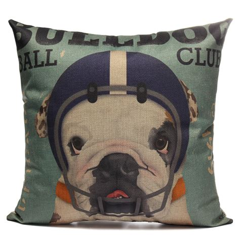 dog throw for sofa cushion cover dog animal throw sofa pillow case home decor