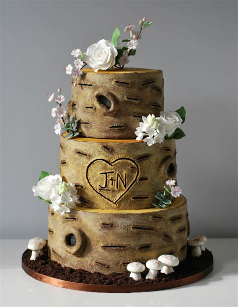 Hochzeitstorte Baum by Rustic Wedding Cake Archives Cakery
