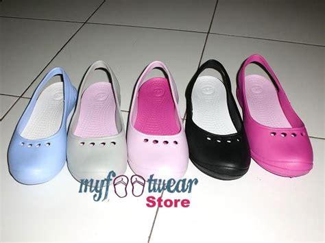 Sepatu Sendal Slip On Wedges Wanita Original Mulan 1200 myfootwearstore pusat sepatu crocs murah surabaya