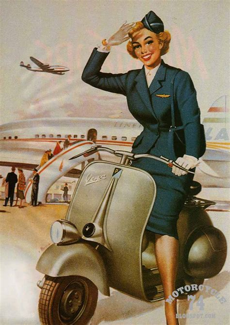 imagenes vespa retro motorcycle 74 vespa pin up girl 1950 s