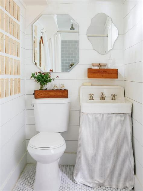 decorating ideas for small bathrooms 30 small bathroom design ideas hgtv