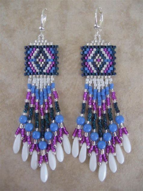 free seed bead earring patterns free seed bead earring patterns awesome jewelry