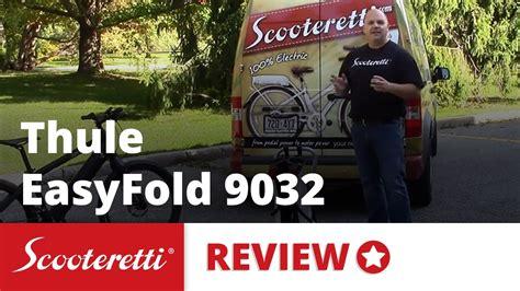 Thule 9032 Easyfold Carrier thule easyfold 9032 2 review thule bike rack hitch