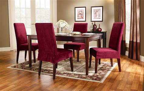 Fitted Dining Room Furniture Dining Chair Slipcovers Chairs Seating