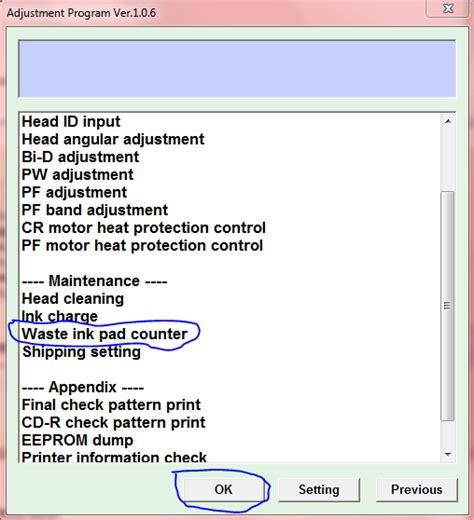 cara resetter epson t1100 free download resetter dan cara penggunaan resetter printer