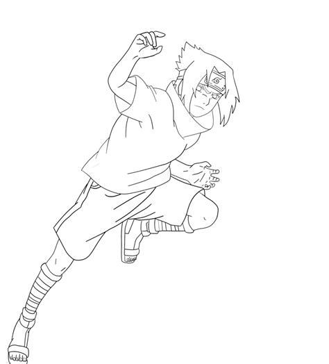 sasuke uchiha lineart by infectedraasclart on deviantart