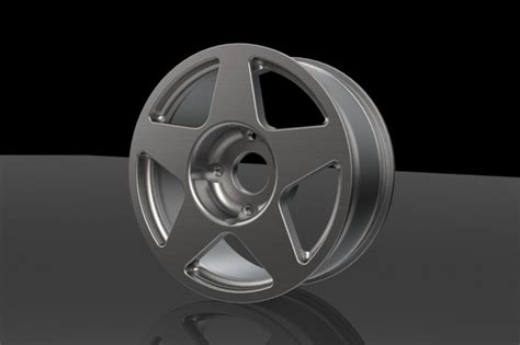 solidworks tutorial alloy wheel compomotive 5 spoke alloy wheel solidworks 3d cad