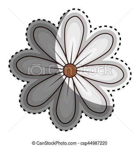 margherita fiore disegno fiore adesivo disegno margherita floreale icona