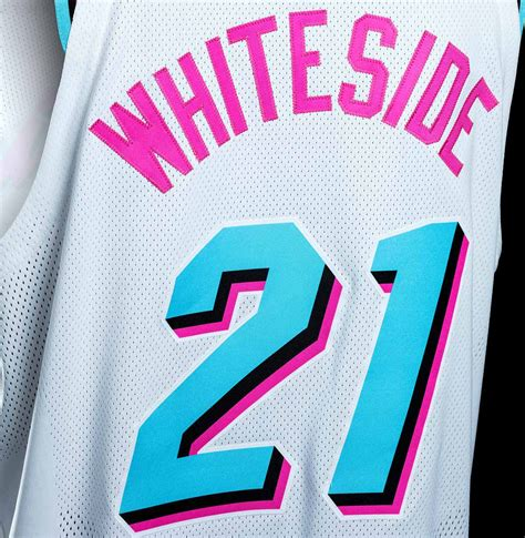 vice colors the miami heat miami vice jerseys and they are so